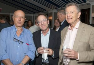 International Tennis Writers Association party