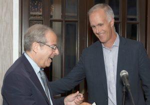 Steve Flink and Todd Martin